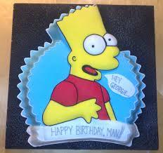 bart simpson cake nouveauxcakes