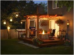 Outdoor Patio Lights Ideas Ideas For Outdoor Patio Lighting Get Patio Deck Lighting Ideas