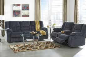 Living Room Sets By Ashley Furniture Buy Ashley Furniture Garek Blue Reclining Living Room Set