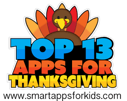 top 10 or you 13 apps for the thanksgiving season newly