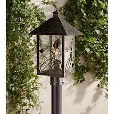 Outdoor Post Light Rustic Outdoor Post Lights Ls Plus