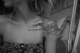 tons of collar bone tattoos