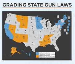 Ccw Map Local Variation In Concealed Carry Of Weapons In California Gun