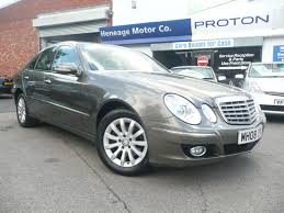 used mercedes benz e class 2008 for sale motors co uk