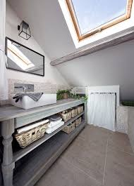 small attic apartment bathrooms custom one of a kind bathroom