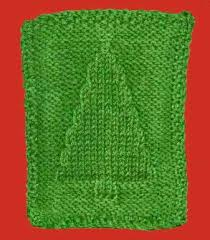 free knitting pattern christmas tree dishcloth knitting project simple pattern completed in one evening perhaps