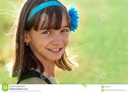 Beautiful Appearance Portrait Of A Beautiful Smiling Teen Of European Appearance