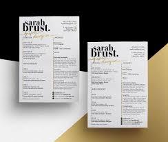 Creative Resume Designs 11 Resume Designs With Slick Personal Branding Personal Branding