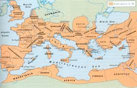 Caesars Palace Map Map Of The Roman Empire In 27 Bc This Is The Empire That Augustus