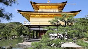 Pavilion Concept Front View Of Kinkaku Ji Golden Pavilion Famous Buddhist Temple