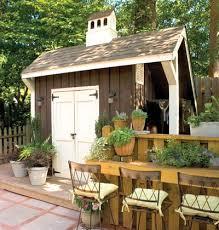 Backyard Shed Bar 12 Stylin U0027 Shed Ideas For Your Backyard