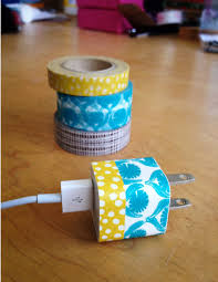 diy phone charger diy washi phone charger crafty techy genius cool mom tech