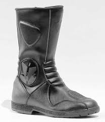 grey motorcycle boots product test 12