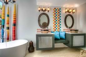 Modern Moroccan Palm Desert Modern Moroccan Bath