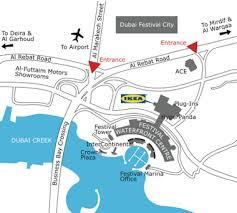 ikea dubai ikea dubai festival city location map jpg