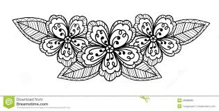 black and white flower drawings thebridgesummit co