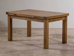 Rustic Oak Dining Tables Extending Dining Table Right To It In Your Dining Room