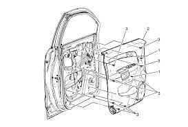 jeep front drawing how do i remove the front interior door handles of my 2009 saturn