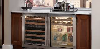 beverage cooler with glass door horizontal beverage cooler uc 24bg sub zero