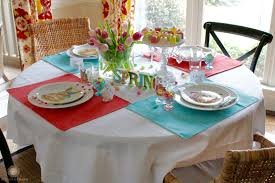 seasonal u0027scapes spring tablescape domestic charm