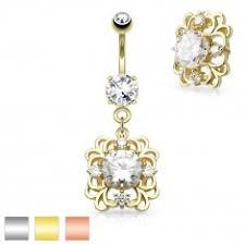 cercel de buric din aur piercing uri pentru buric bijuterii eshop ro