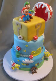 birthday cakes images great mario birthday cake for children easy
