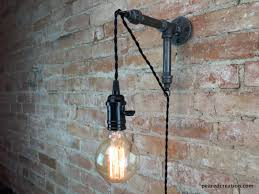 Edison Wall Sconce Industrial Hanging Edison Wall Sconce Id Lights