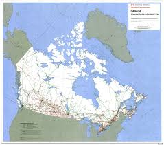 Map Of International Airports Airports In Canada Map Canada Map