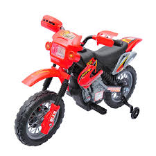 motocross bike security aosom aosom 6v kids ride on electric motocross dirt bike red