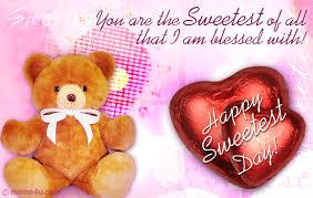 Sweetest Day Meme - teddy bear card sweetest day ecard sweetest day greetings