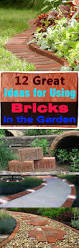 using bricks in the garden smart ideas for garden design