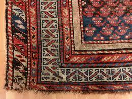 Red And Blue Persian Rug by Persian Rug 4 U0027 X 5 U0027 8 Antique Blue Kurdistan U2013 Jessie U0027s Oriental Rugs