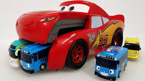 lightning mcqueen cars 3 disney pixar cars 3 tayo the little bus