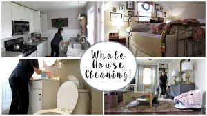 whole house cleaning vlog youtube