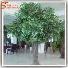 suitable for restaurant decoration size artificial trees