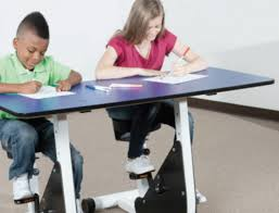Desk Pedal Are Desks With Pedals The Solution To Obesity In Our Schools