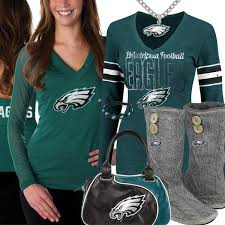 philadelphia eagles fan style inspiration eagles fashion inspiration