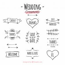 wedding ornament collection epin free graphic