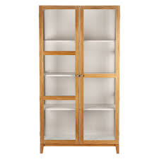 dining room glass cabinet colton oak and linen white glass cabinet buy now at habitat uk