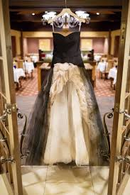 dark u0026 sparkly halloween wedding with black vera wang wedding gown
