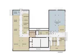 Municipal Hall Floor Plan by New Library And Renovation Of City Hall In Søgne A Lab Archdaily