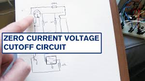 zero current low voltage cut off and latching power switch youtube