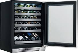 Wine Cellar Malaysia - electrolux ei24wc10qs 24 inch undercounter wine cooler with 46