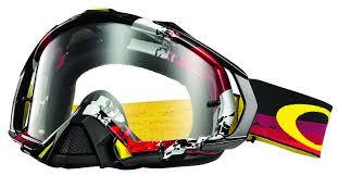 oakley motocross goggle lenses amazon com oakley mayhem pro legacy goggles white frame 24k