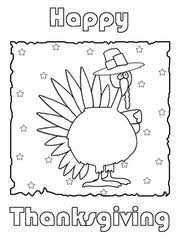 free printable thanksgiving coloring cards cards create and print