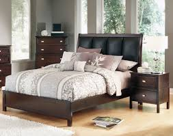 Ashley Bedroom Set With Leather Headboard Strickland U0027s Ashley