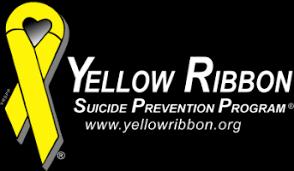 black and yellow ribbon yellow ribbon prevention program home