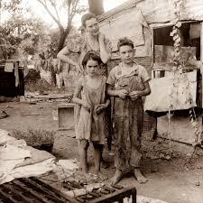 depression era old picture of the day depression era family