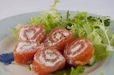 dukan diet attack phase smoked salmon and cream cheese wrap