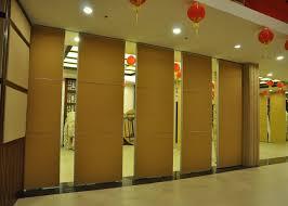 Sliding Door Room Divider Commercial Acoustic Fabric Panels Aluminum Sliding Screen Doors